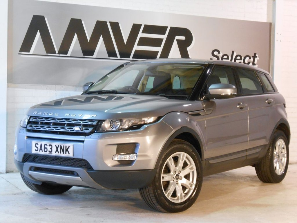 USED 2013 63 LAND ROVER RANGE ROVER EVOQUE 2.2 SD4 PURE TECH 5d AUTO 190 BHP