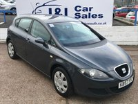 USED 2007 57 SEAT LEON 1.6 REFERENCE 5d 101 BHP