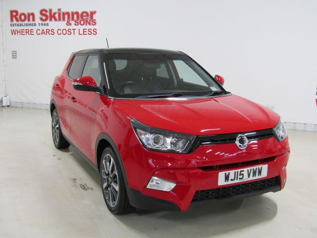 View our 2015 15 SSANGYONG TIVOLI 1.6 ELX 5d 126 BHP