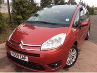 USED 2009 59 CITROEN C4 GRAND PICASSO 1.6 VTR PLUS HDI EGS 5d AUTO 107 BHP AUTO AUTOMATIC 7 SEATER SEATS