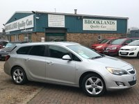 2012 VAUXHALL ASTRA 1.6 SRI Sports Tourer Sovereign Silver Metallic 5 Door 113BHP £5495.00