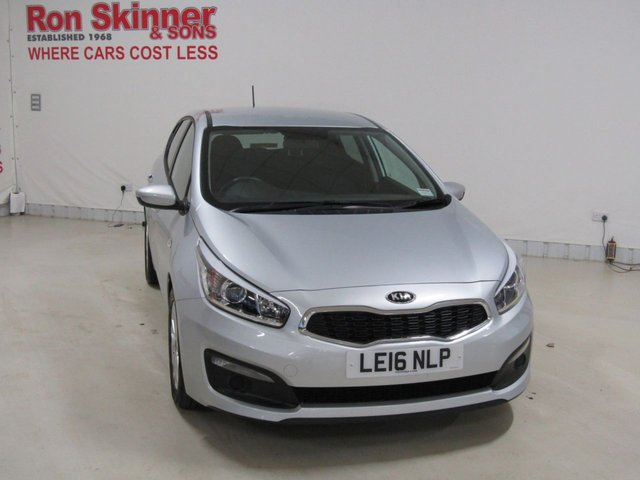 View our 2016 16 KIA CEED 1.4 SR7 5d 98 BHP