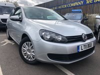 USED 2011 11 VOLKSWAGEN GOLF 1.4 TWIST 3d 79 BHP ONE PREVIOUS OWNER
