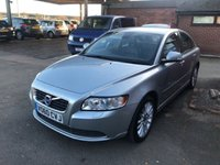 USED 2010 60 VOLVO S40 1.6 D DRIVE SE LUX 4d 109 BHP ONE OWNER FROM NEW, 58K MILES, FULL VOLVO HISTORY