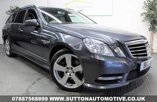 2012 12 MERCEDES-BENZ E CLASS 2.1 E220 CDI BLUEEFFICIENCY EXECUTIVE SE 5d AUTO 170 BHP