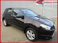 USED 2012 12 NISSAN QASHQAI 1.5 ACENTA DCI 5dr 110 BHP **NICE EXAMPLE**