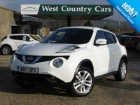USED 2017 17 NISSAN JUKE 1.6 ACENTA XTRONIC 5d AUTO 117 BHP Only 1 Private Owner From New