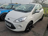 2016 FORD KA 1.2 ZETEC WHITE EDITION 3d 69 BHP £5995.00