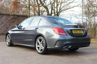 USED 2015 65 MERCEDES-BENZ C CLASS 2.1 C220 BLUETEC AMG LINE 4d AUTO 170 BHP ONE OWNER FROM NEW * FULL DEALER HISTORY