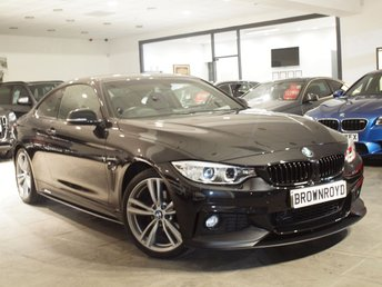 2014 BMW 4 SERIES 2.0 420D XDRIVE M SPORT 2d AUTO 181 BHP £18450.00