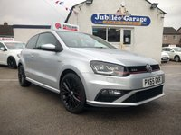 USED 2015 VOLKSWAGEN POLO 1.8 GTI 3d 189 BHP Touch Screen, Bluetooth, One Owner, Service inc!