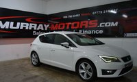 2013 SEAT LEON 2.0 TDI FR 5DOOR 150 BHP *CANDY WHITE*