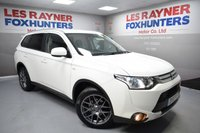 USED 2015 15 MITSUBISHI OUTLANDER 2.3 DI-D GX 2 5d 147 BHP Cruise control, 4WD, Air con, 1 Owner, Autolights