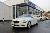 2014 BMW 1 SERIES 2.0 116d M Sport 5d £10185.00