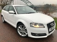 USED 2012 12 AUDI A3 1.6 TDI SPORT 5d 103 BHP ***LOOKS GREAT IN ICE WHITE***