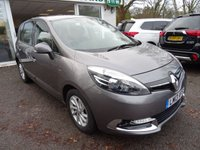 USED 2013 13 RENAULT SCENIC 1.5 DYNAMIQUE TOMTOM ENERGY DCI S/S 5d 110 BHP Renault Service History, Recently Serviced, Minimum 6 months MOT, One Previous Owner, Excellent fuel economy! Only £20 Road Tax! 6 Speed gearbox