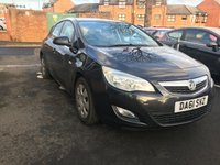 USED 2011 61 VAUXHALL ASTRA EXCLUSIVE CDTI ECOFLEX 34562 MILES! GREAT SPECIFICATION INCLUDING AUXILLIARY/USB CONNECTION!..GOOD FUEL ECONOMY, CO2 EMISSIONS(104 G/KM) AND FULL HISTORY. ONLY 34562  MILES FROM NEW!
