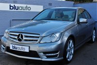 USED 2012 M MERCEDES-BENZ C 180 1.8 BLUE EFFICIENCY SPORT 4d AUTO 155 BHP Satellite Navigation, Part Leather, Heated Front Seats, Dual Climate & Cruise Control, Front & Rear Sensors, Voice Command Bluetooth