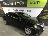 USED 2013 13 MERCEDES-BENZ C CLASS 2.1 C220 CDI BLUEEFFICIENCY EXECUTIVE SE 2d AUTO 168 BHP