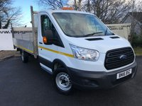 USED 2016 16 FORD TRANSIT 350 2.2 125 BHP DROPSIDE HD 14.5 FT ALLOYBODY TAIL LIFT