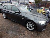 2016 BMW 5 SERIES 2.0 520D M SPORT TOURING 5d AUTO 188 BHP £14995.00