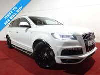 USED 2012 12 AUDI Q7 3.0 TDI QUATTRO S LINE PLUS 5d AUTO 245 BHP The Car Finance Specialist