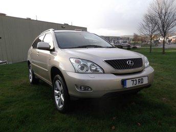 2005 LEXUS RX 3.0 300 SE 5d AUTO 202 BHP £5995.00