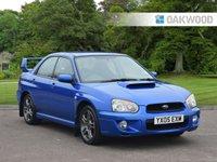 USED 2005 05 SUBARU IMPREZA 2.0 WRX TURBO AWD 4d 218 BHP