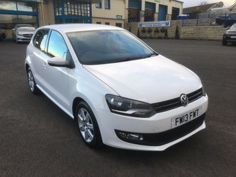 2013 VOLKSWAGEN POLO 1.2 MATCH EDITION TDI 5d 74 BHP £6450.00