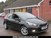 USED 2014 14 KIA CEED 1.4 VR7 (LOW MILEAGE) 5dr GREAT SPEC / LOW MILEAGE WITH FOUR SERVICE STAMPS