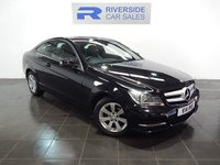 USED 2013 MERCEDES-BENZ C CLASS 2.1 C220 CDI BLUEEFFICIENCY EXECUTIVE SE 2d AUTO 168 BHP