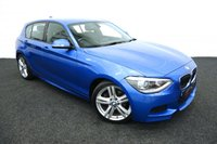 2013 BMW 1 SERIES 2.0 125D M SPORT 5d AUTO 215 BHP £12444.00