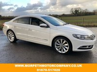 USED 2013 VOLKSWAGEN CC 2.0 GT TDI BLUEMOTION TECHNOLOGY 4d 175 BHP ***DUO TONE HEATED LEATHER UPHOLSTERY,SAT NAV,BLUETOOTH***
