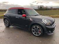 2013 MINI COUNTRYMAN 1.6 JOHN COOPER WORKS 5d 215 BHP £13495.00