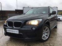 USED 2012 BMW X1 2.0 SDRIVE18D M SPORT 5d 141BHP 2KEYS+FSH6STAMPS+BLUETOOTH+CD+