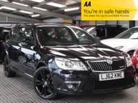 USED 2012 62 SKODA OCTAVIA 2.0 BLACKLINE VRS TDI CR 5d 168 BHP STUNNINGLY RARE VRS BLACKLINE EDITION IN BEST COLOUR COMBINATION, AND BOASTING A HOST OF EXTRAS AND 170 BHP PERFORMANCE.