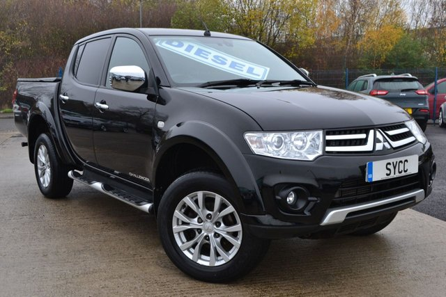 USED 2015 65 MITSUBISHI L200 2.5 DI-D 4X4 CHALLENGER LB DCB 5d 175 BHP 1 OWNER ~ 2 KEYS ~ FULL SERVICE RECORDS ~ 6 MONTHS WARRANTY ~ 6 MONTHS BREAKDOWN COVER