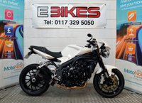 USED 2010 10 TRIUMPH SPEED TRIPLE 1050 NAKED, STREETFIGHTER, 1050CC, EXC CONDITION