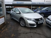 USED 2015 65 HONDA CIVIC 1.6 I-DTEC S 5d 118 BHP