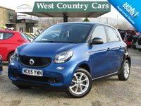 USED 2015 65 SMART FORFOUR 1.0 PASSION 5d 71 BHP Fun Smart Looks With Four Seats