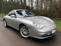 USED 2002 52 PORSCHE 996 CARRERA 4 TIPTRONIC 3.6 AUTO 2 DOOR COUPE (996) CLARION NAVIGATION & BLUETOOTH - DAB RADIO - 18' SPLIT RIM ALLOY WHEELS - REAR PARKING SENSORS - BLACK LEATHER INTERIOR & MORE