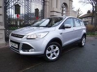 USED 2015 65 FORD KUGA 2.0 ZETEC TDCI 5d 148 BHP FINANCE ARRANGED***PART EXCHANGE WELCOME***1 OWNER***SERVICE HISTORY***HEATED SCREEN***CRUISE***BLUETOOTH