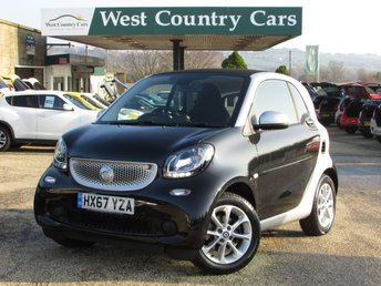2017 SMART FORTWO 0.9 PASSION T 2d AUTO 90 BHP £7500.00