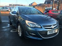 USED 2015 15 VAUXHALL ASTRA 2.0 ELITE CDTI 5d AUTO 163 BHP GREAT SPECIFICATION AUTOMATIC WITH PARKING SENSORS, ALLOY WHEELS, AIR CONDITIONING, CRUISE CONTROL. ONLY 18811 MILES FROM NEW!