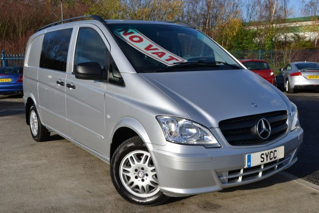 USED 2012 N MERCEDES-BENZ VITO 2.1 116 CDI DUALINER 5d 163 BHP 5 Seats NO VAT TO PAY ~ 5 SEATS ~ AIR CON ~ 6 MONTHS WARRANTY ~ 6 MONTHS BREAKDOWN COVER