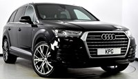 USED 2015 65 AUDI Q7 3.0 TDI S line Tiptronic Quattro (s/s) 5dr Tech Pack, Head Up, Camera ++
