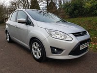 USED 2012 62 FORD C-MAX 1.6 ZETEC 5d 104 BHP **2 OWNERS**LOVELY CONDITION**SUPERB DRIVE**