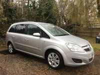 2008 VAUXHALL ZAFIRA 1.9 CDTI DESIGN 5d  WITH NOISY FLYWHEEL, HENCE THE PRICE £850.00