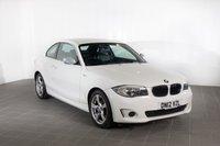 2012 BMW 1 SERIES 2.0 118D EXCLUSIVE EDITION 2d 141 BHP £7382.00
