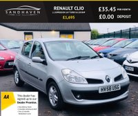 USED 2008 58 RENAULT CLIO 1.1 EXPRESSION 16V TURBO 5d 100 BHP IDEAL 1ST CAR
